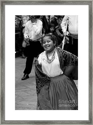 Cuenca Kids 715 Framed Print by Al Bourassa