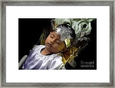 Cuenca Kids 781 Framed Print by Al Bourassa