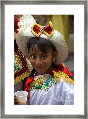 Cuenca Kids 789 Framed Print by Al Bourassa