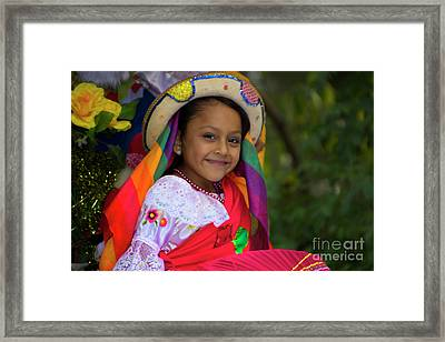Cuenca Kids 865 Framed Print by Al Bourassa