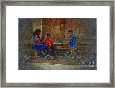 Cuenca Kids 875 Framed Print