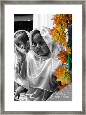 Cuenca Kids 885 Framed Print by Al Bourassa
