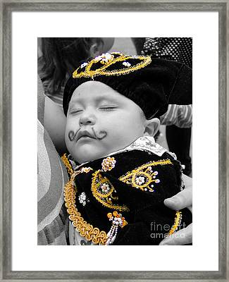 Cuenca Kids 891 Framed Print by Al Bourassa