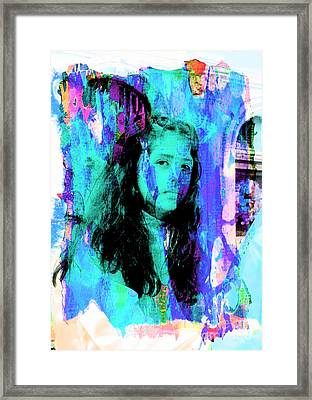 Framed Print featuring the photograph Cuenca Kids 892 by Al Bourassa