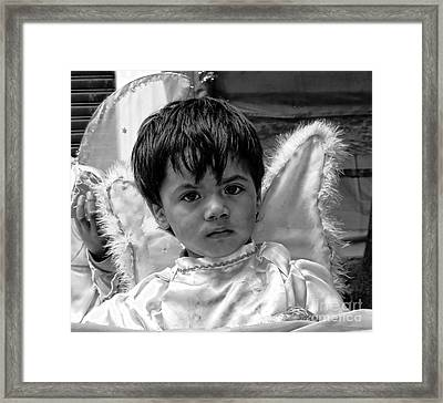 Cuenca Kids 893 Framed Print by Al Bourassa