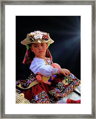 Cuenca Kids 962 Framed Print