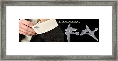 Cufflinks Online At Shaze Framed Print by Jessica