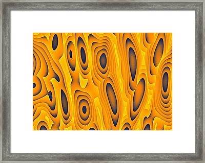 Framed Print featuring the digital art Cuiditheoiri by Jeff Iverson