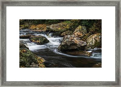 Cullasaja River Framed Print
