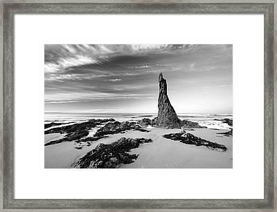 Cullen Stack  Framed Print by Grant Glendinning