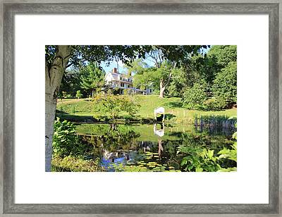 Cullens Country Home Framed Print