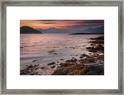 Cuillin From Elgol Isle Of Skye Framed Print by Alex Saunders