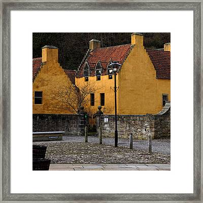 Framed Print featuring the photograph Culross by Jeremy Lavender Photography