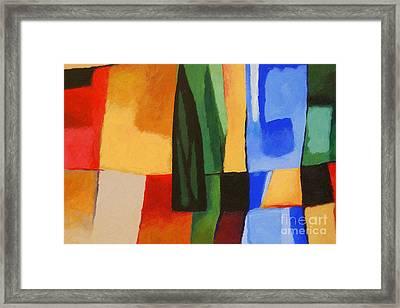 Cultura Framed Print by Lutz Baar