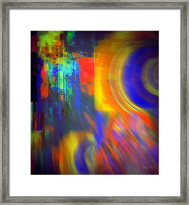 Cultural Exchange And Movement Framed Print by Fania Simon