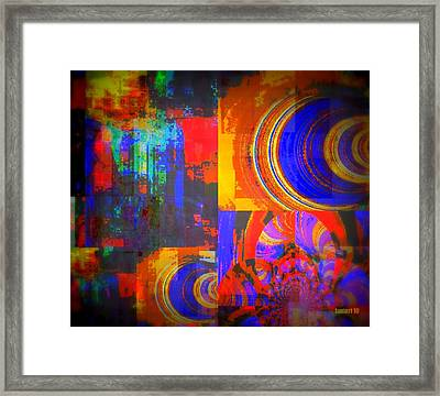 Culture Exchange Framed Print by Fania Simon