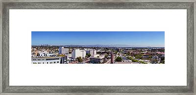 Culver City East Framed Print by Kelley King