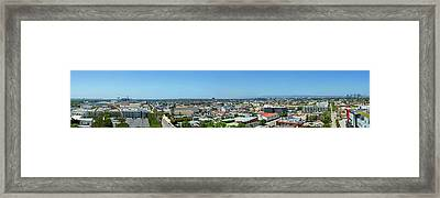 Culver City West View Framed Print by Kelley King