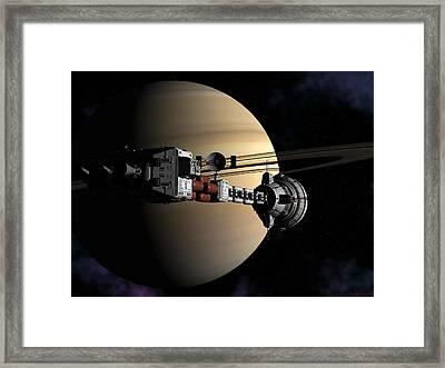 Cumberland At Saturn Part 2 Framed Print