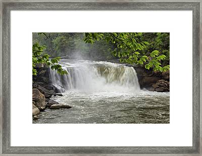 Cumberland Falls Close-up Framed Print