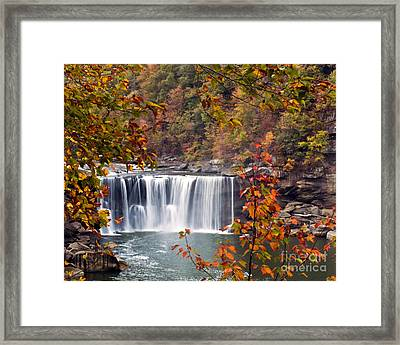 Cumberland Falls Two Framed Print