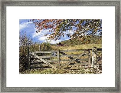 Cumberland Farm - D009719 Framed Print by Daniel Dempster