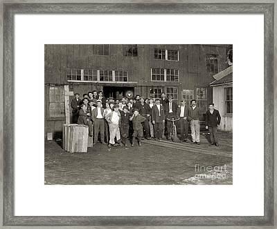 Cumberland Glass Works Framed Print