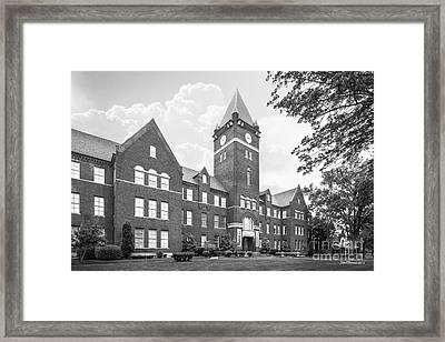 Cumberland University Memorial Hall Framed Print by University Icons