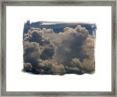 Cumulonimbus Framed Print by Priscilla Richardson