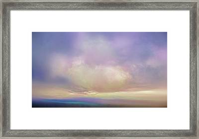 Cumulos Framed Print by Lonnie Christopher