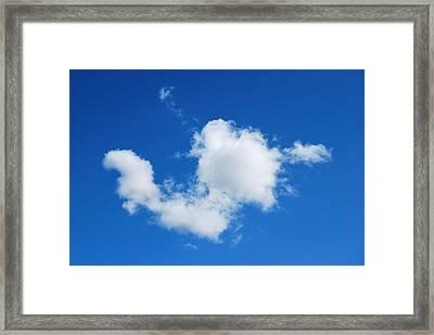 Cumulus Framed Print by Marilynne Bull