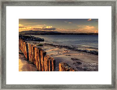 Cunnigar At Sunset Framed Print