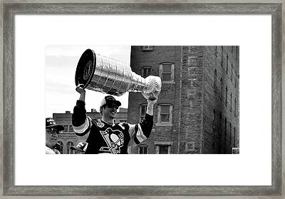 Cup Champion Framed Print by Aaron Stitt