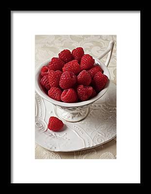 Raspberry Framed Prints