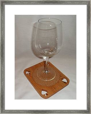 Cup Holder Framed Print by M and D Magic Creations