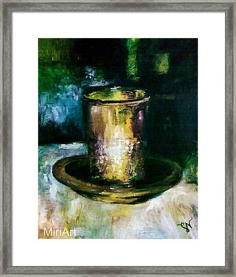 Cup Of Blessing Framed Print