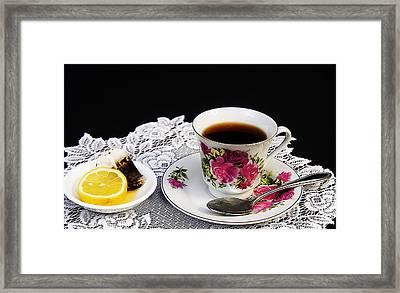 Cup Of Tea Please Framed Print