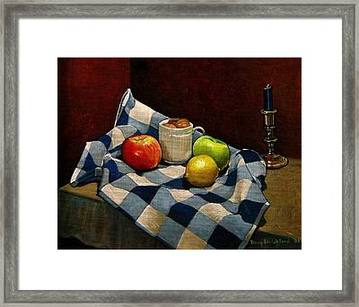 Cupboard Still Life Framed Print by Doug Strickland