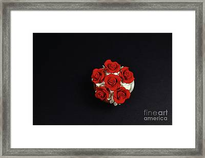 Cupcake Framed Print by Afrodita Ellerman