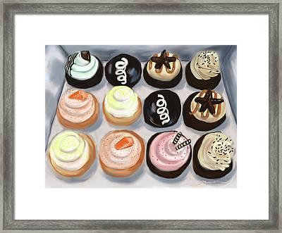 Cupcake Charlies Framed Print