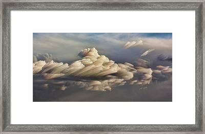 Cupcake In The Cloud Framed Print