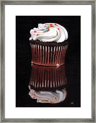 Cupcake Reflections Framed Print