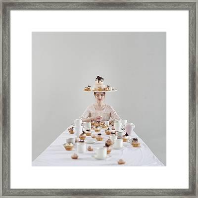 Cupcakes Framed Print by Dasha Pears