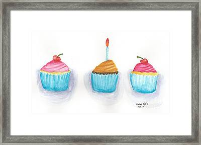 Cupcakes?  Framed Print by Isabel Proffit