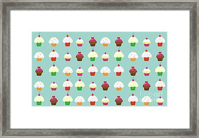 Cupcakes  Framed Print by Kourai