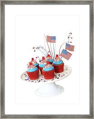 Cupcakes Framed Print by Rose-Marie Murray