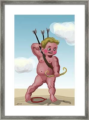 Cupid Framed Print