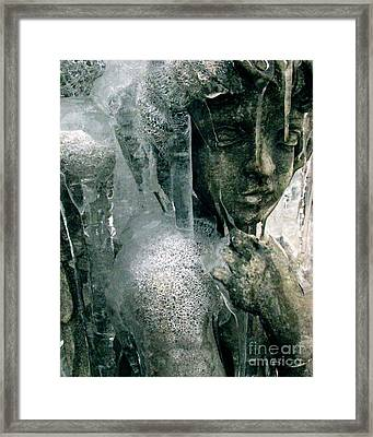 Framed Print featuring the photograph Cupid's Psyche Awaiting Zephyrus by Misha Bean