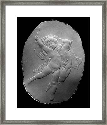 Cupids Framed Print by Suhas Tavkar