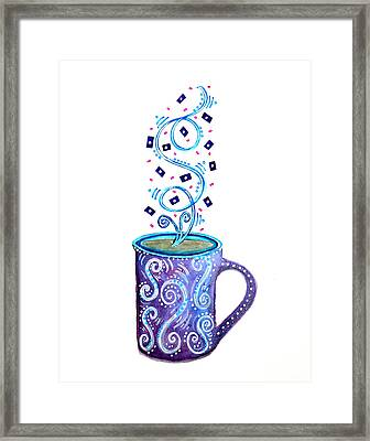 Cuppa Series - Cup Of Creativity Framed Print
